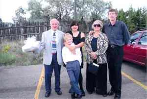 Auntie Bea, Uncle Skip and Gilchrist clan.